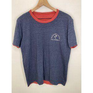 Marine Layer Crew Neck Short Sleeve T-Shirt Size M